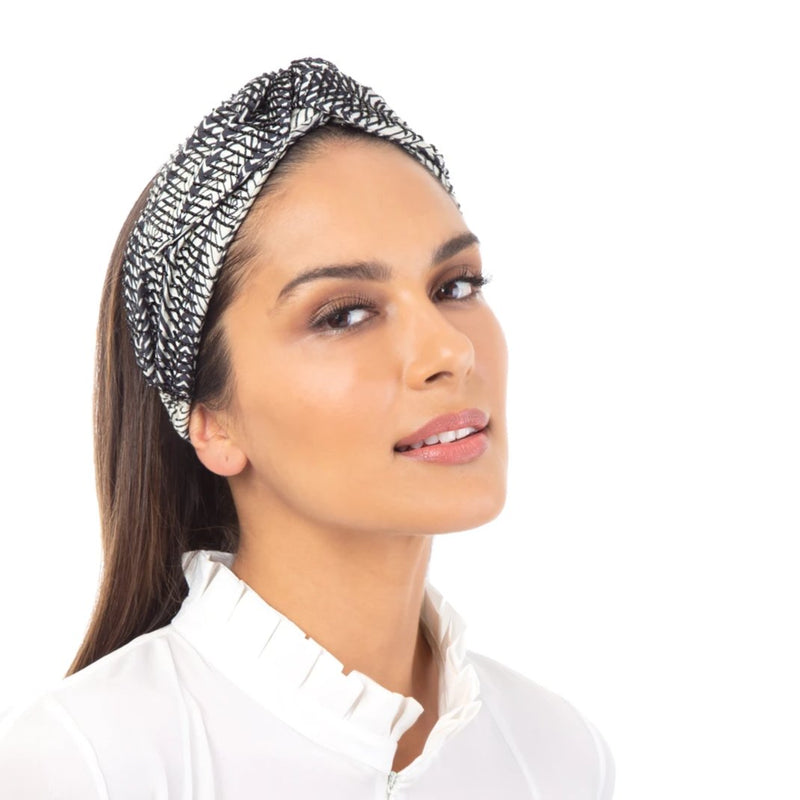 Chasity Headwrap for a big fashion hair statement
