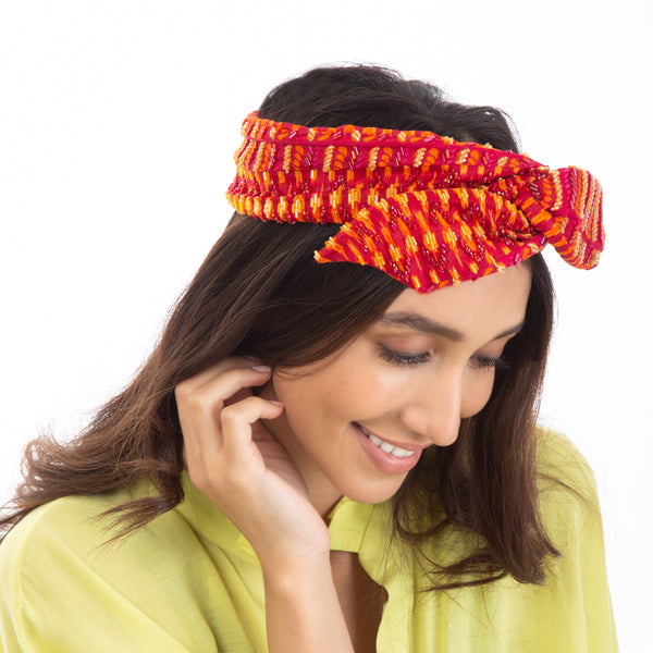 Freshen you hairstyle with our Nalani Headwrap.
