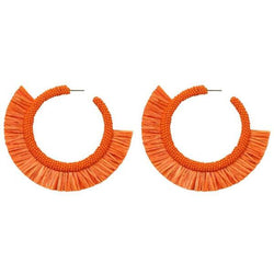 Deepa by Deepa Gurnani Handmade Orange Haddie Earrings