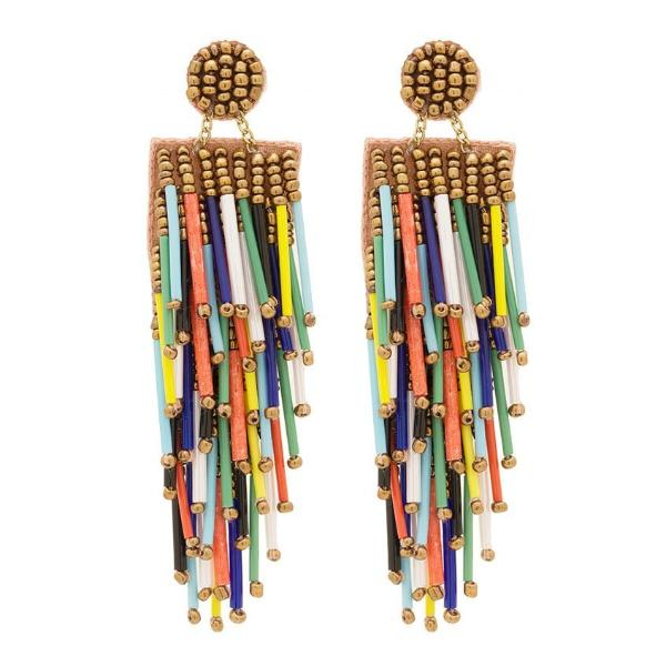 Deepa by Deepa Gurnani Handmade Lightweight Multi Color Alvie Earrings