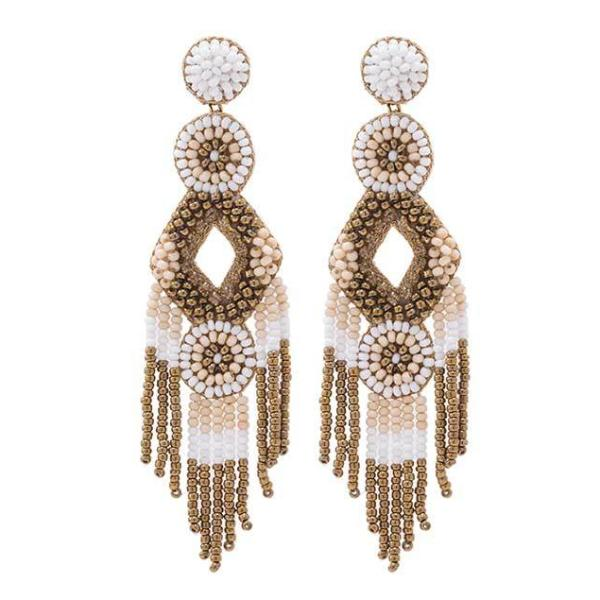 Deepa by Deepa Gurnani Handmade Gold Color Bridget Earrings