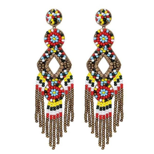Deepa by Deepa Gurnani Handmade Multi Color Bridget Earrings