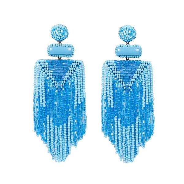 Deepa by Deepa Gurnani Turquoise Jody Earrings