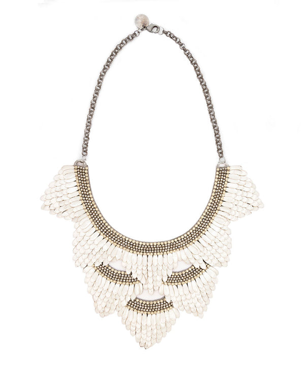 Deepa by Deepa Gurnani Ivory Color Charvi Necklace