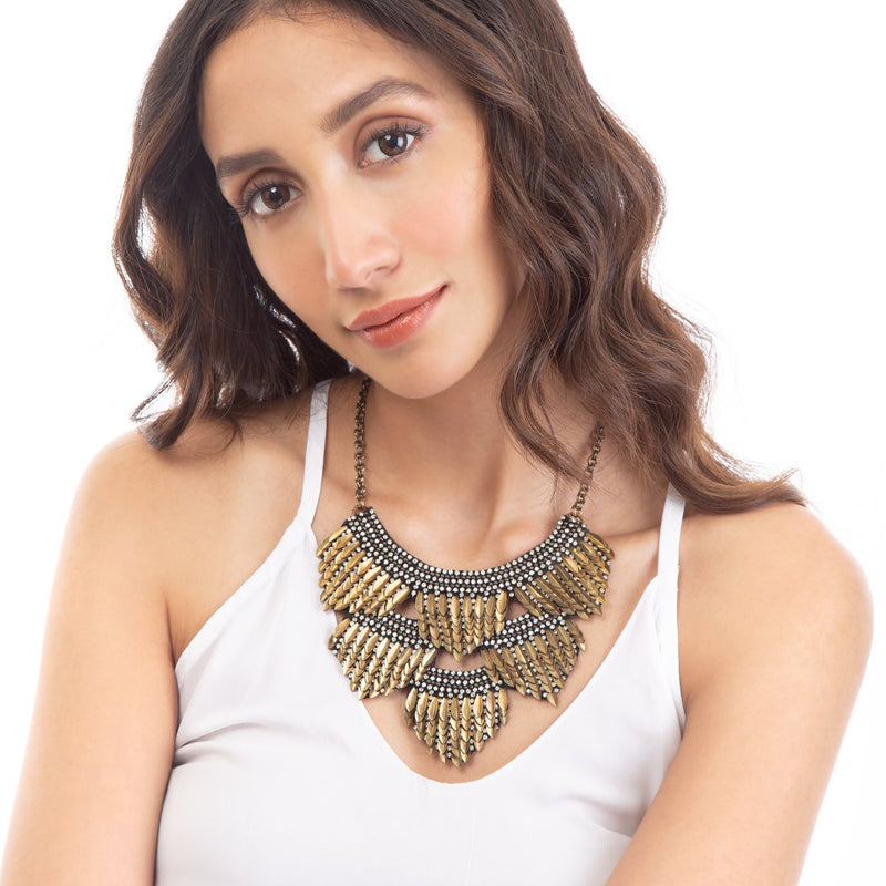 The Meadow Necklace is A versatile piece you can wear anytime and anywhere