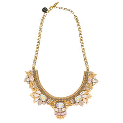 Deepa by Deepa Gurnani Handmade Janna Necklace in Gold