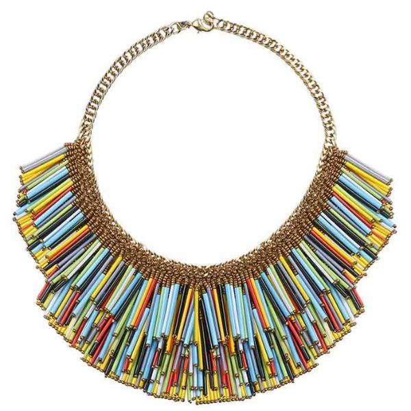 Deepa by Deepa Gurnani Handmade Yvette Necklace Multicolor