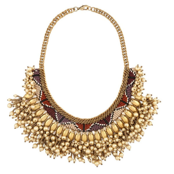 Deepa by Deepa Gurnani Handmade Wendi Necklace Gold