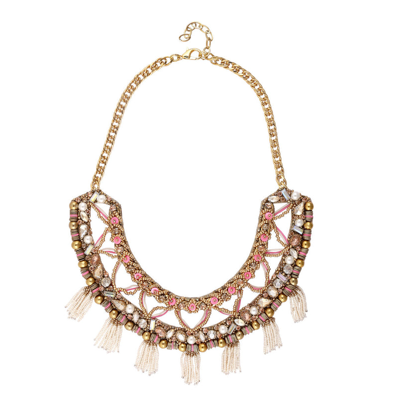 Deepa by Deepa Gurnani Handmade Tamara Necklace Gold