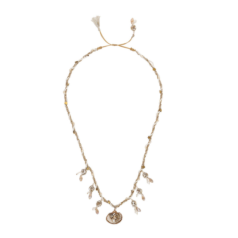Deepa by Deepa Gurnani Handmade Naja Necklace Gold