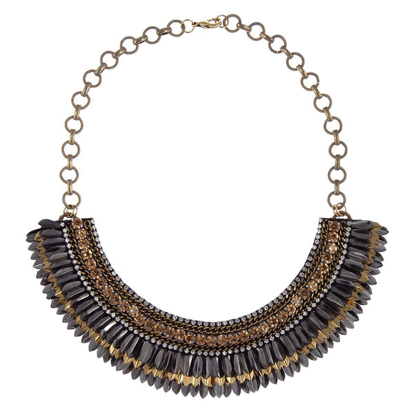 Deepa by Deepa Gurnani Handmade Mahika Necklace Gold