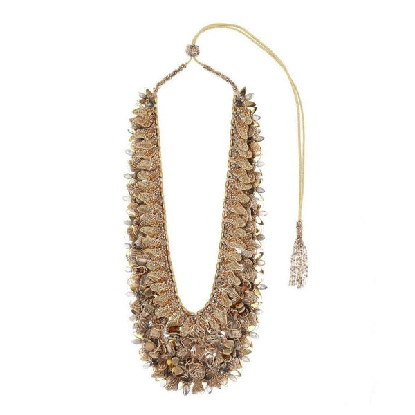 Deepa Gurnani Handmade May Necklace Gold