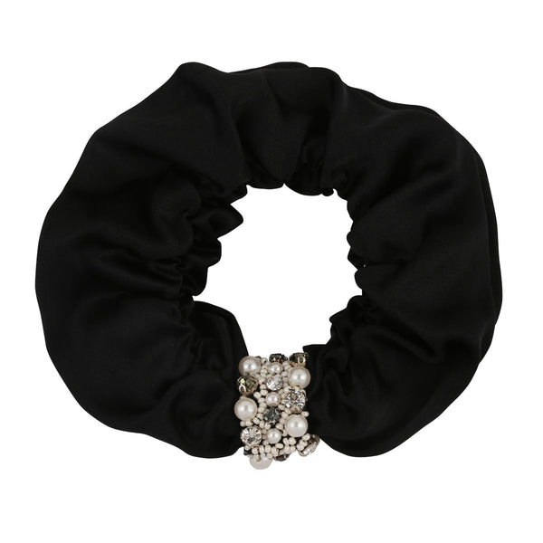 Deepa by Deepa Gurnani Patsy Scrunchie Black