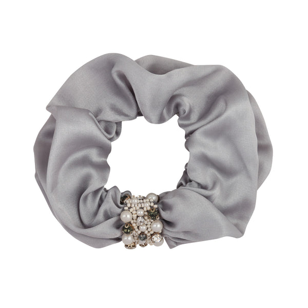 Deepa by Deepa Gurnani Patsy Scrunchie Grey