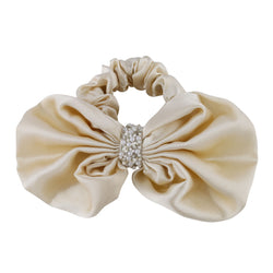 Deepa by Deepa Gurnani Nolita Bow Scrunchie Gold