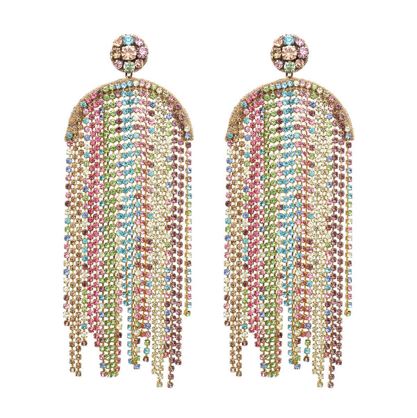 Handmade Chandelier Earrings worn by Katy Perry in January 2020 India Vogue