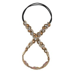 Deepa by Deepa Gurnani Handmade Demi Headband in Gold