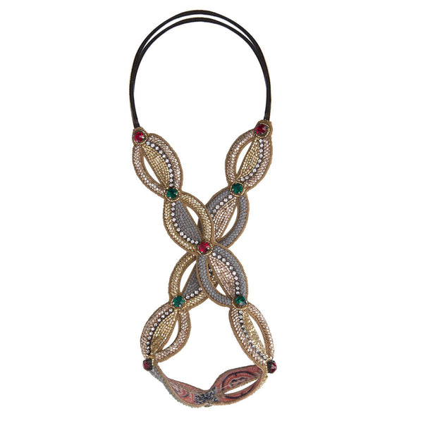 Deepa by Deepa Gurnani Handmade Sammy Headband in Gold