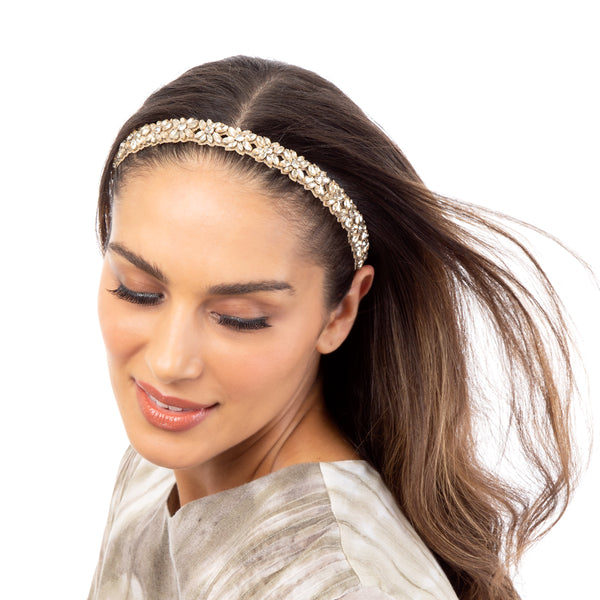 The Abela Headband is bursting with personality.