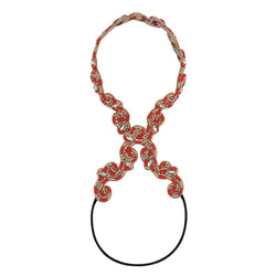 Deepa by Deepa Gurnani Handmade Ranya Headband in Red