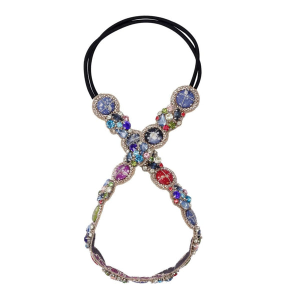 Deepa by Deepa Gurnani Handmade Renesmee Headband Multi Color