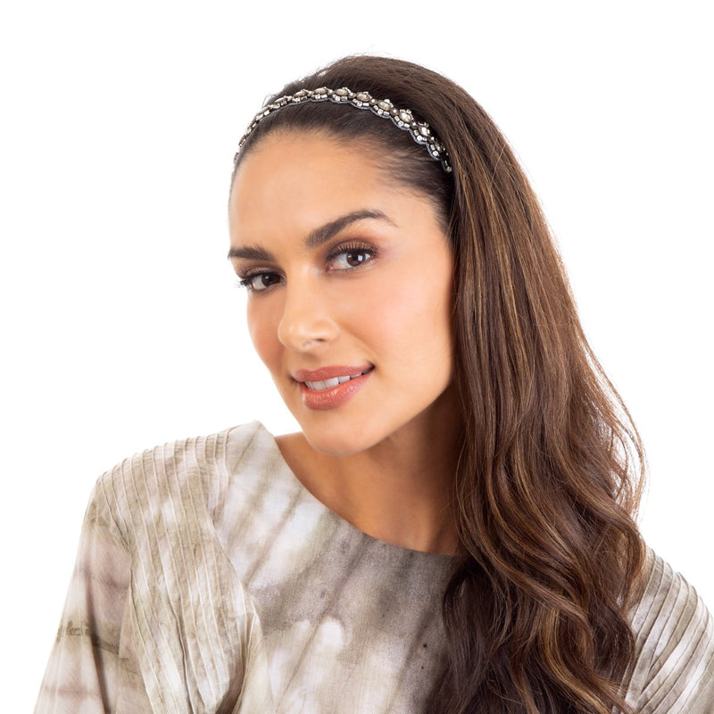 The Ellis Headband is the ideal choice when the occasion calls for a perfect hair day.