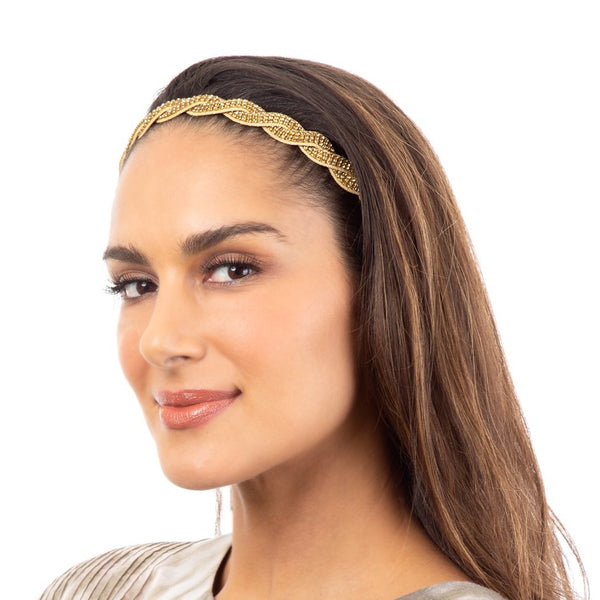 Freshen your hair style with a Deepa Gurnani handmade headband.