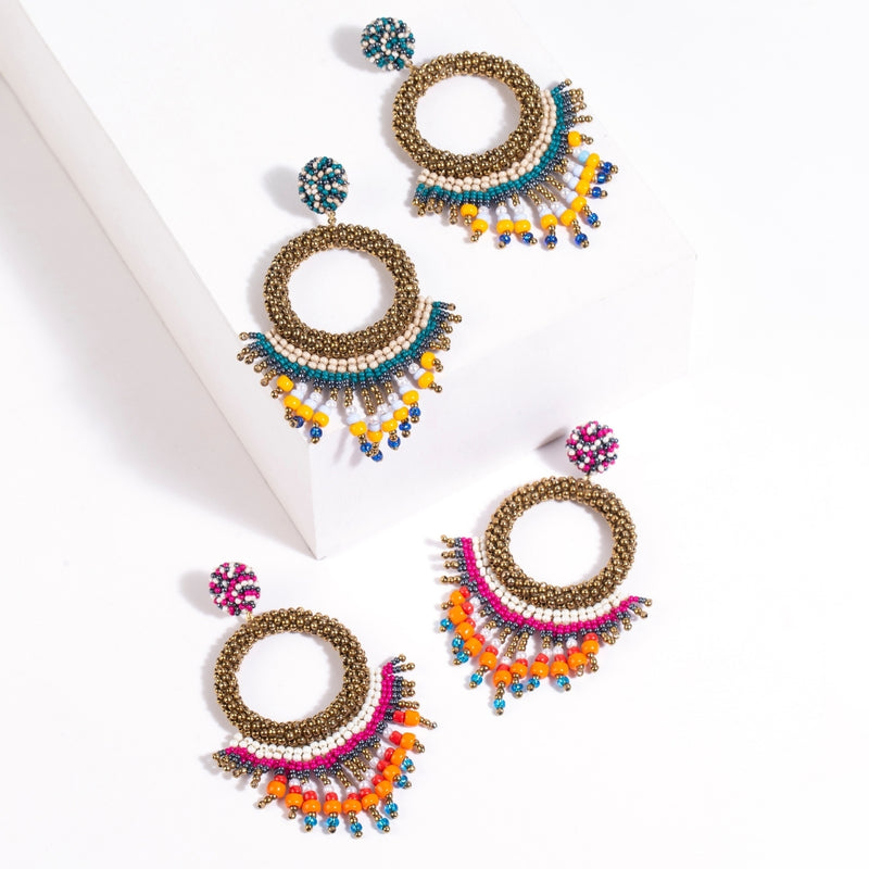Beautifully hand crafted artisan earrings