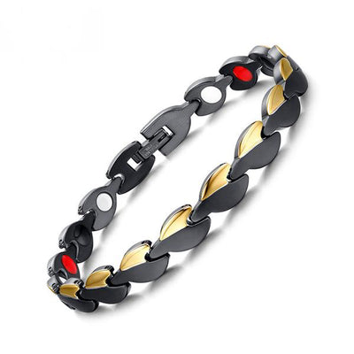 SW03 Women Stainless Steel Gold-Black