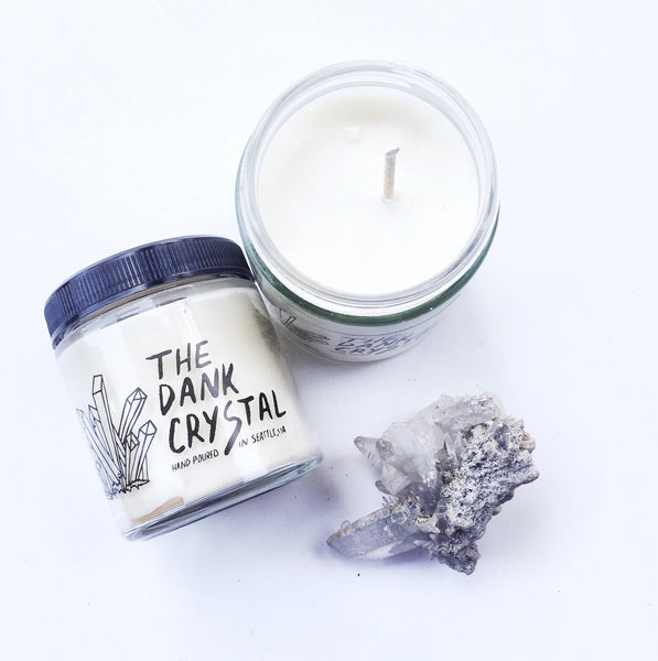 The Dank Crystal Hand Poured Candle