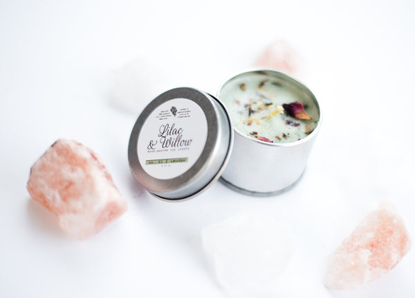 Lilac & Willow // Smudge Candle