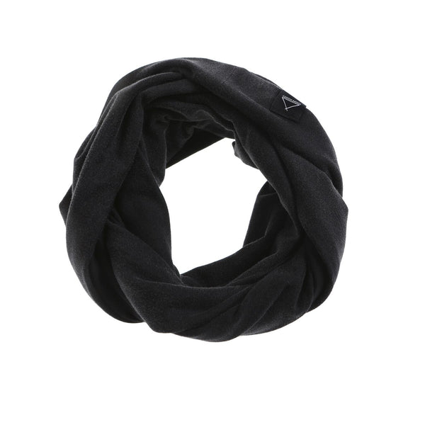 SNOOD BLK ACID