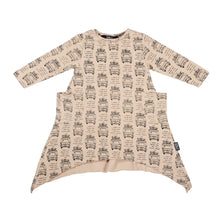 Load image into Gallery viewer, Drive the Van long sleeve skatey dress
