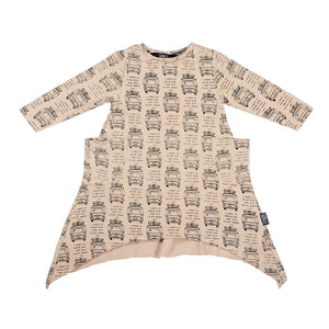 Drive the Van long sleeve skatey dress