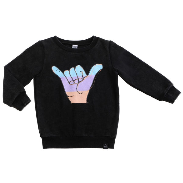 Shaka fleece sweater