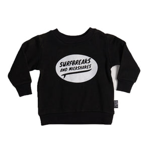 Surfbreaks and Milkshakes Fleece Sweater