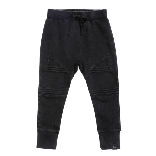 SURF TRACKIES BLK ACID