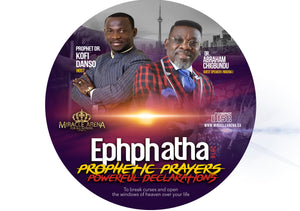 #50001 - Ephphatha 2018 Prophet Prayers & Powerful Declarations - Miracle Arena Bookstore