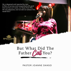 #DD - But What Does The Father Call You - Miracle Arena Bookstore