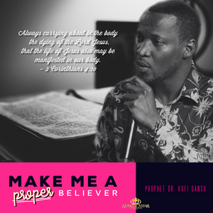 #10469 - Make Me A Proper Believer - Miracle Arena Bookstore
