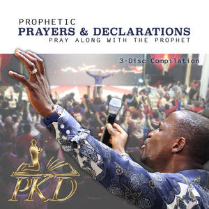 #30011 - Prophetic Prayer & Declaration Mash-Up (5-CD Set) - Miracle Arena Bookstore