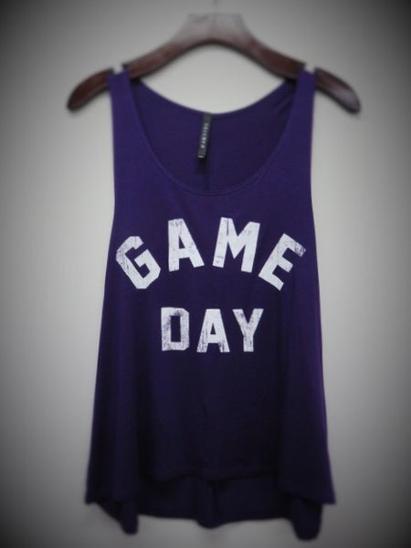 Go team! Game Day Tank!