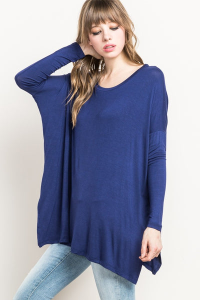 Boxy Blues Top