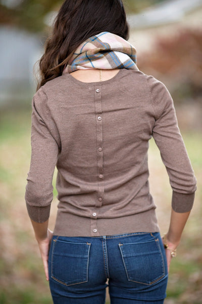 Back Down Sweater, Cocoa