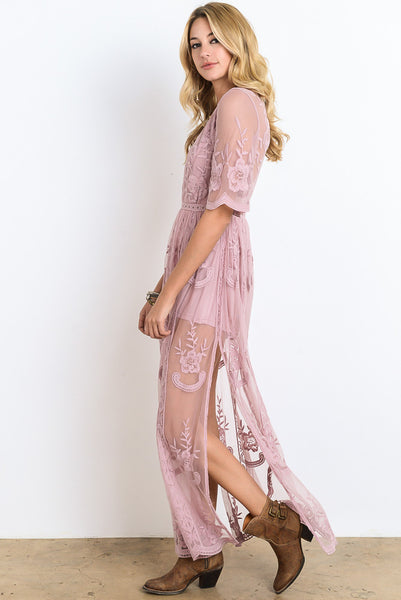 Nothing Short Of Stunning Maxi, Light Mauve