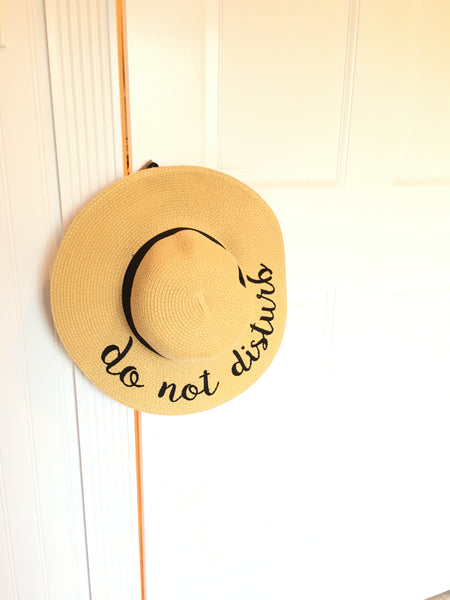 Best selling sun hat for the summer! Do Not Disturb