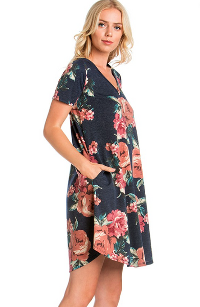 The Gypsy Catwalk This dress is perfect for looking beautiful for any everyday activity! Going to brunch with the girls? Going to a party at a friends house? Maybe you have a shower to attend? Whatever the occasion this floral beauty is sure to be a fabulous choice!   Material has generous amount of stretch.