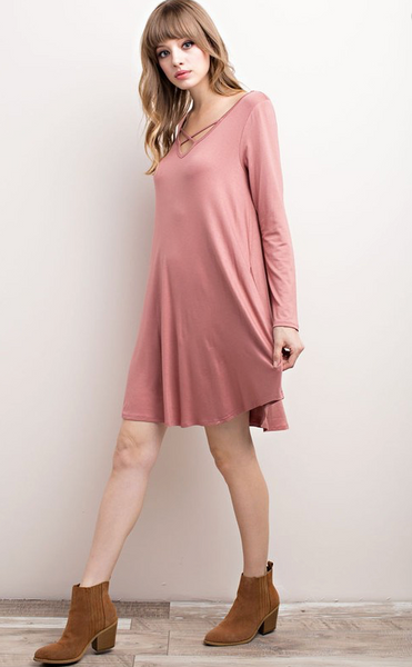 Criss Cross Tunic/Dress