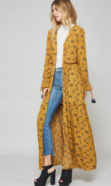 Button Up Beauty, Maxi
