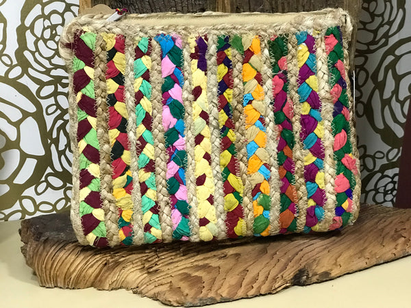 Multi Rainbow Clutch